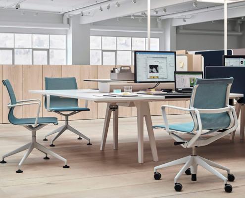sedie per l'ufficio vitra